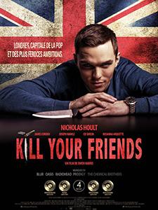 Kill your friends fait partie des films de la sélection officielle 2015 du festival du film anglais et irlandais d'ajaccio