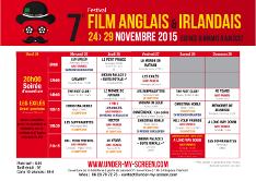 Grille de projection films 2015 festival du film anglais et irlandais d'Ajaccio