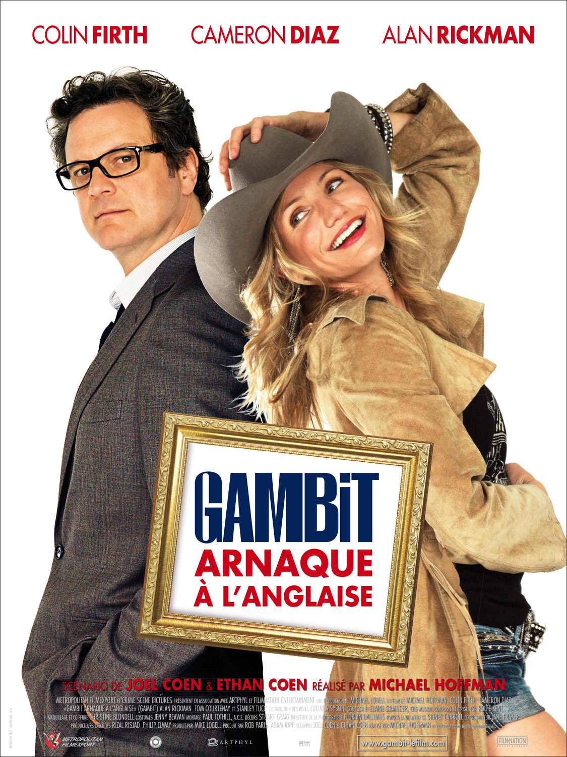 affiche-Gambit-Arnaque-a-l-anglaise-Gambit-2012-1