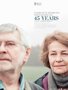 45 years fait partie des films de la sélection officielle 2015 du festival du film anglais et irlandais